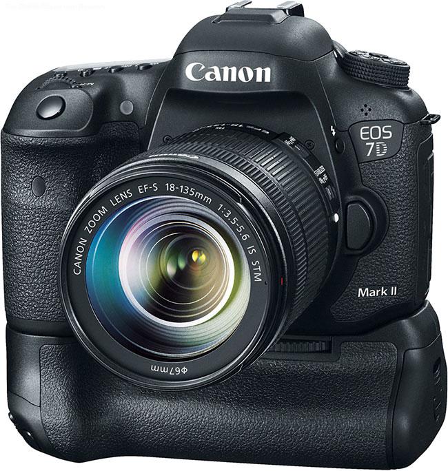 Canon EOS 7D Mark II with BG-E16